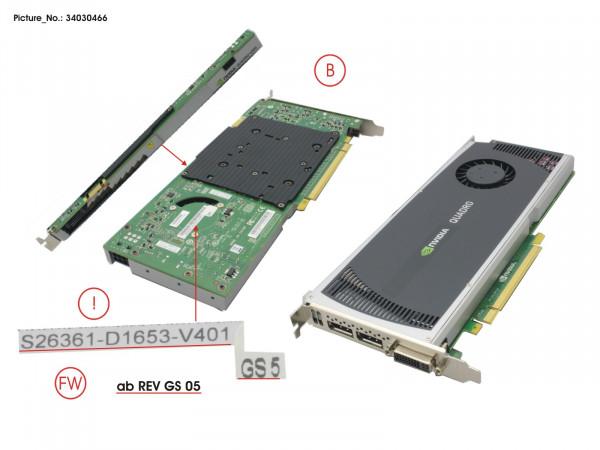 VGA NVIDIA QUADRO 4000 2GB ST. PCI-E X16