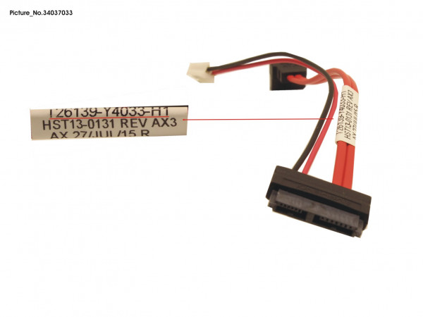 CABLE SATA SL+DAT