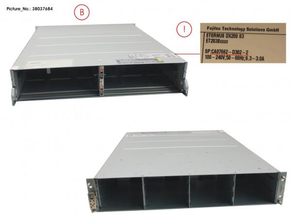 DX200 S3 CONTROLLER ENCL. 3,5 WO PSU/CM