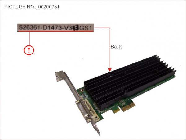 VGA NVIDIA QUADRO_NVS290 256MB PCI-E X1