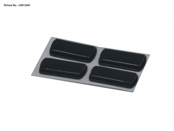 RUBBER FEET 4 PCS