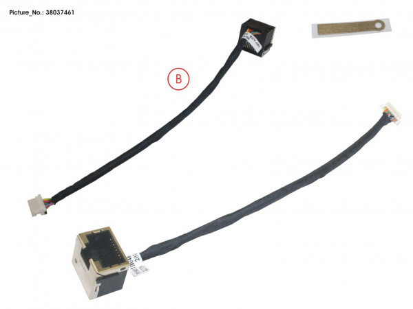 LAN (RJ45) CONNECTOR W/CABLE