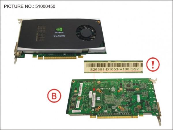 VGA NVIDIA QUADRO FX1800 768MB PCI-E