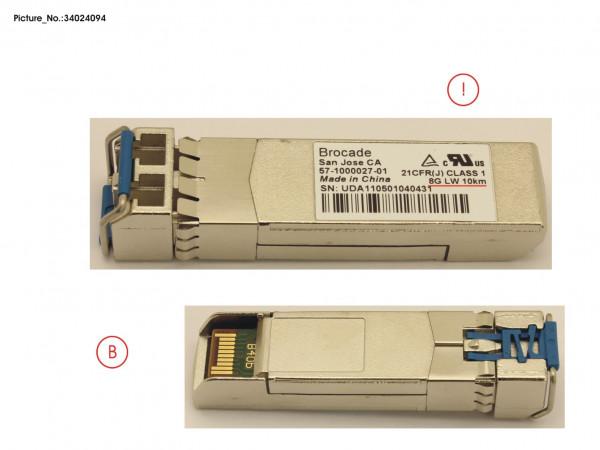 FC SFP+ SMF 8GB LC 10KM (BROCADE)