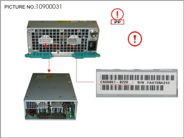 POWER SUPPLY UNIT FOR DE