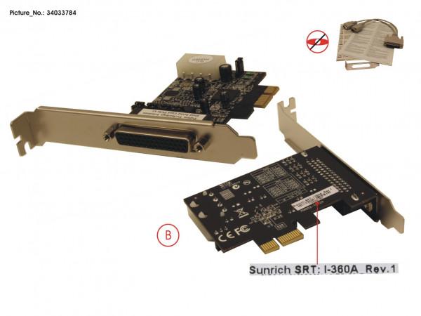 DUAL SERIAL CARD PCIE X1