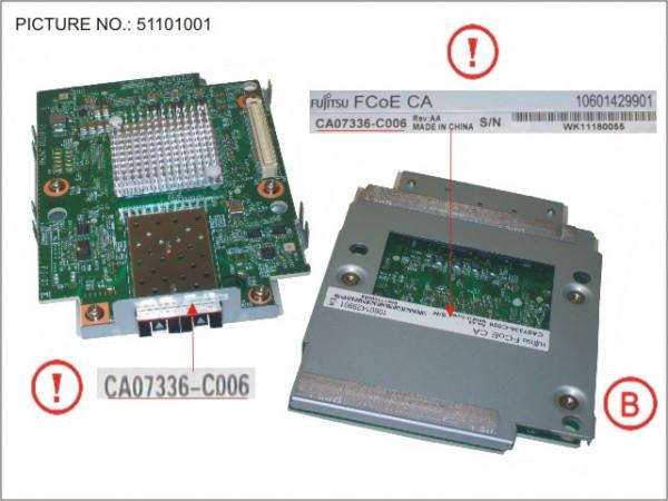 DX80/90 S2 INTERFCARD FCOE 2PORT 10G