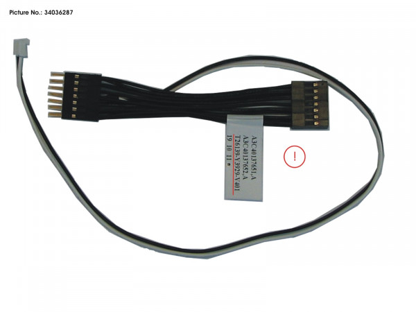 CABLE REMOTE PWR ON
