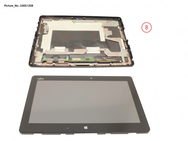LCD ASSY, AG INCL.TP W/O DIGITIZER