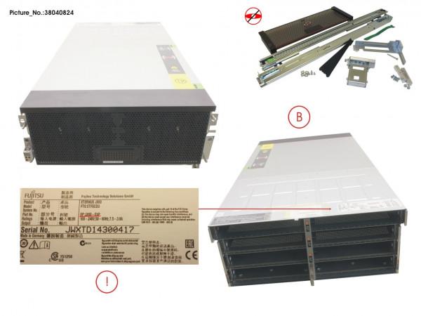 JX60 SPARE ENCLOSURE WO PSU / IOM