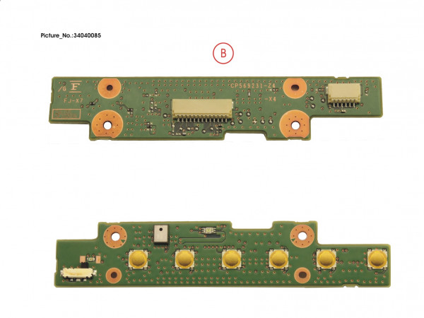 SUB BOARD, APPLICATION BUTTONS (R2)