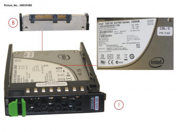 SSD SATA 6G 200GB MAIN 2.5' H-P EP