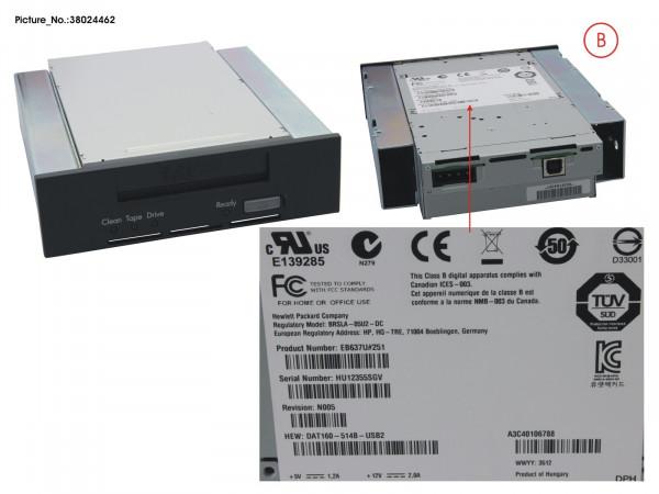TAPE KIT DDS GEN6 80GB USB 5.25' INT. R2