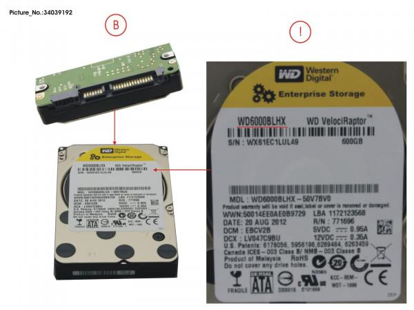 HDD 600GB SATA S3 10K 2.5'