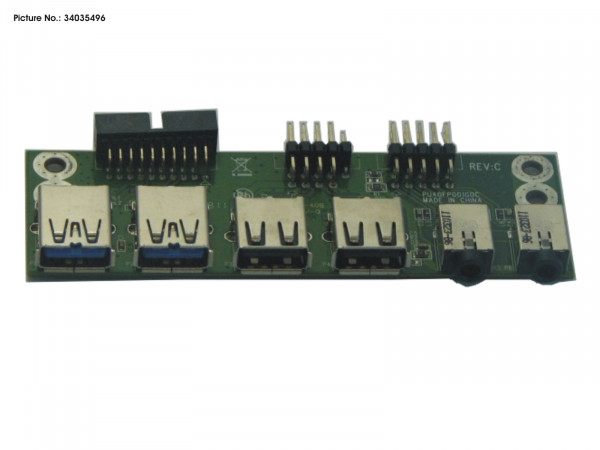 FRONT I/O BOARD USB2+3.0+AUDIO