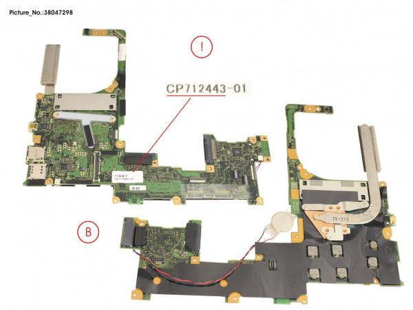 MAINBOARD I5-6200U/4GB
