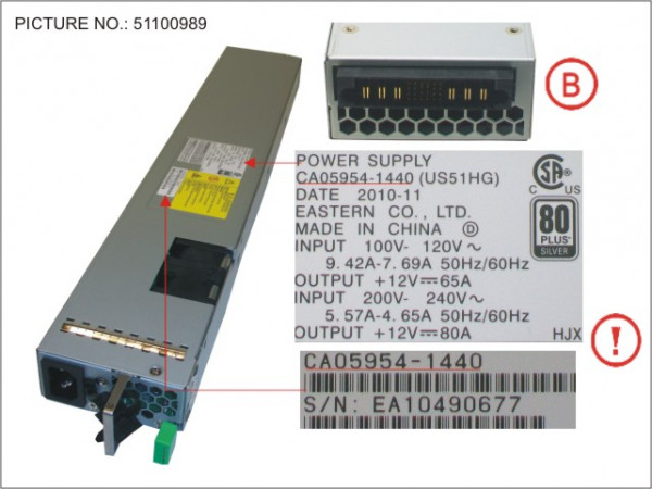 DX4X0 POWER SUPPLY UNIT F. CE