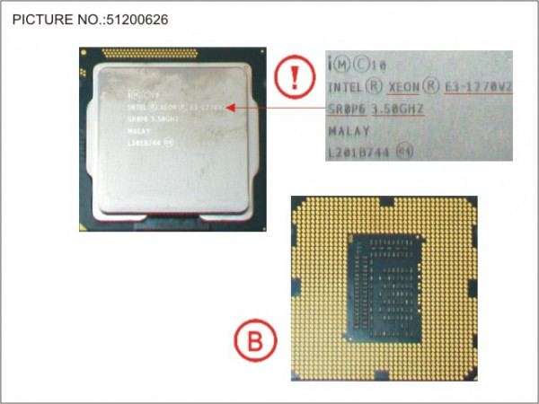 CPU XEON E3-1270V2 3.5GHZ 69W