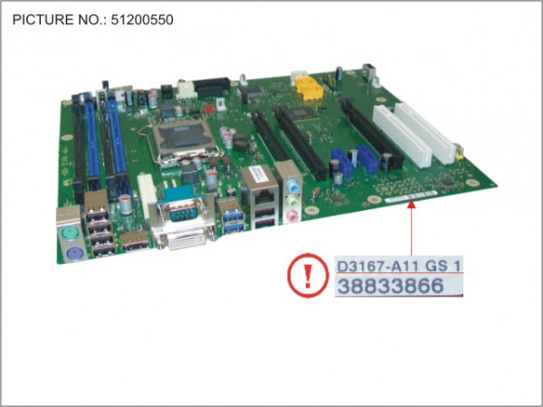 MAINBOARD PANTHERPOINT IC216 ATX