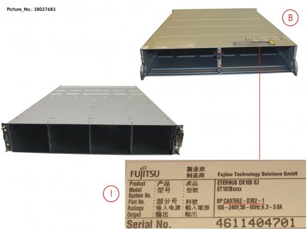 DX100 S3 CONTROLLER ENCL. 3,5 WO PSU/CM