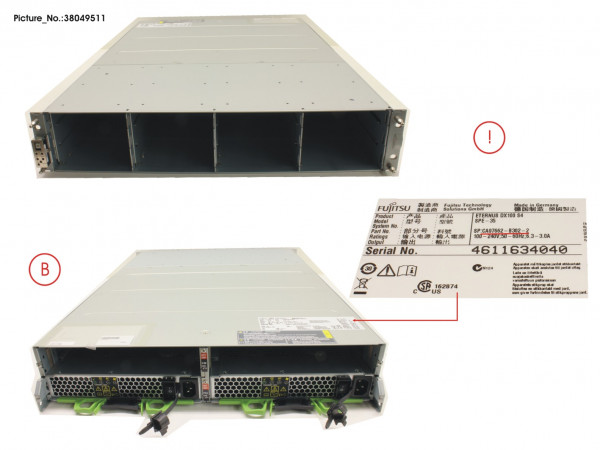 "ET DX1/200 S4 3,5"" SPARE CE"