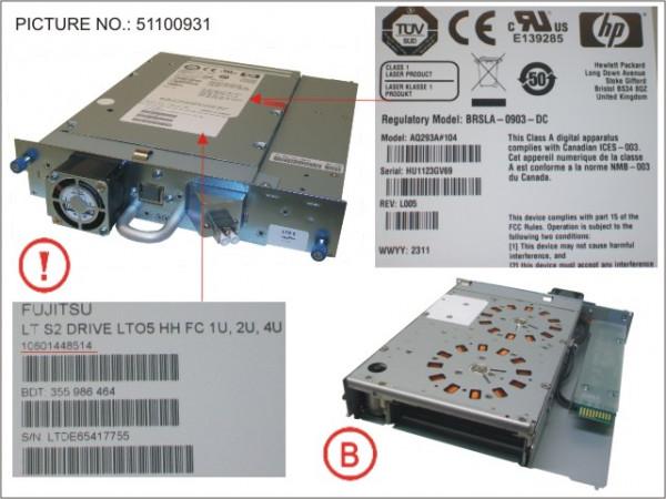 LT S2 DRIVE LTO-5 HH FC 1U, 2U, 4U