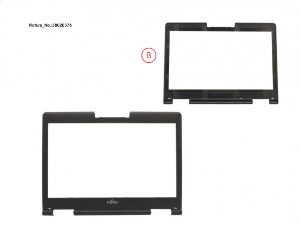 LCD FRONT COVER (FOR MGN)