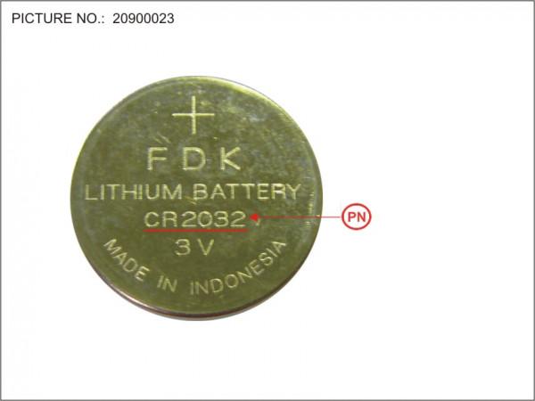 BT-RTC LITHIUM BATTERY (CR 2032)