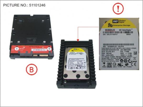 HDD 300GB SATA S2 10K 3.5'