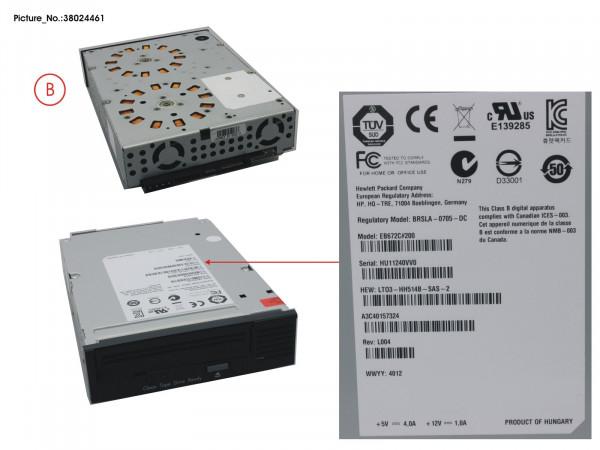 TAPE KIT LTO3HH ULTR 400GB 60MB/S SAS R2