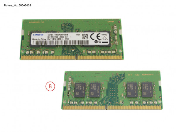 MEMORY 8GB DDR4-2666 SO