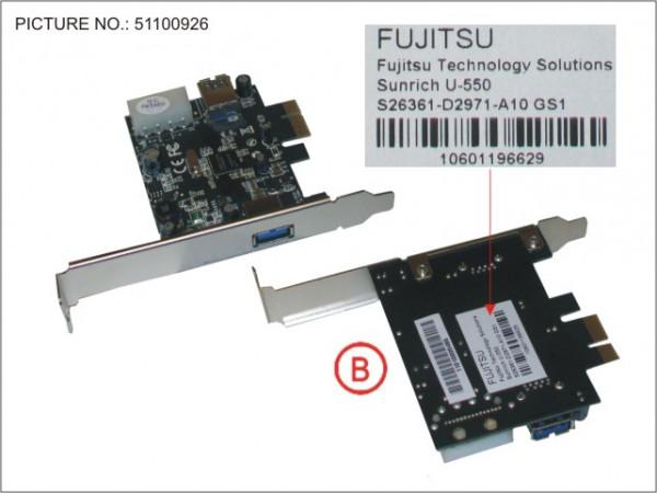 USB 3.0 PCIE X1 LP