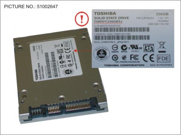 SSD 256GB 2.5 SATA/TOS (FDE)